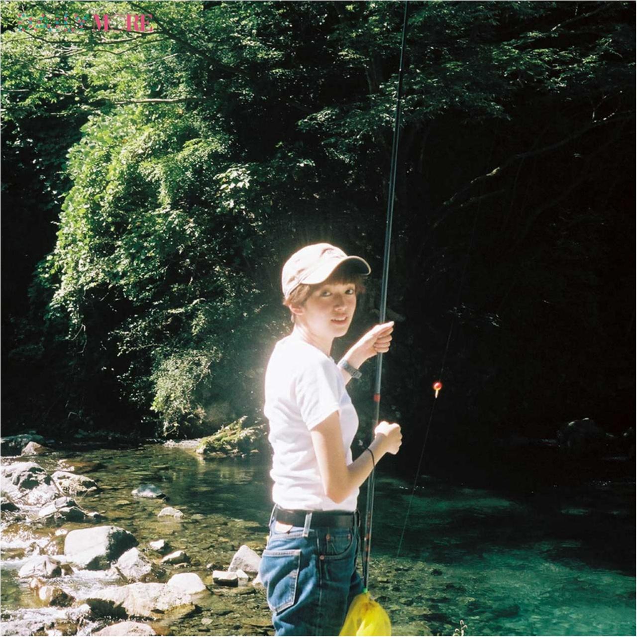 おいしいイワナ、何匹釣れるかな♪ 佐藤栞里が「渓流釣り」にGO!【栞里のちょっと行ってみ!?】_2