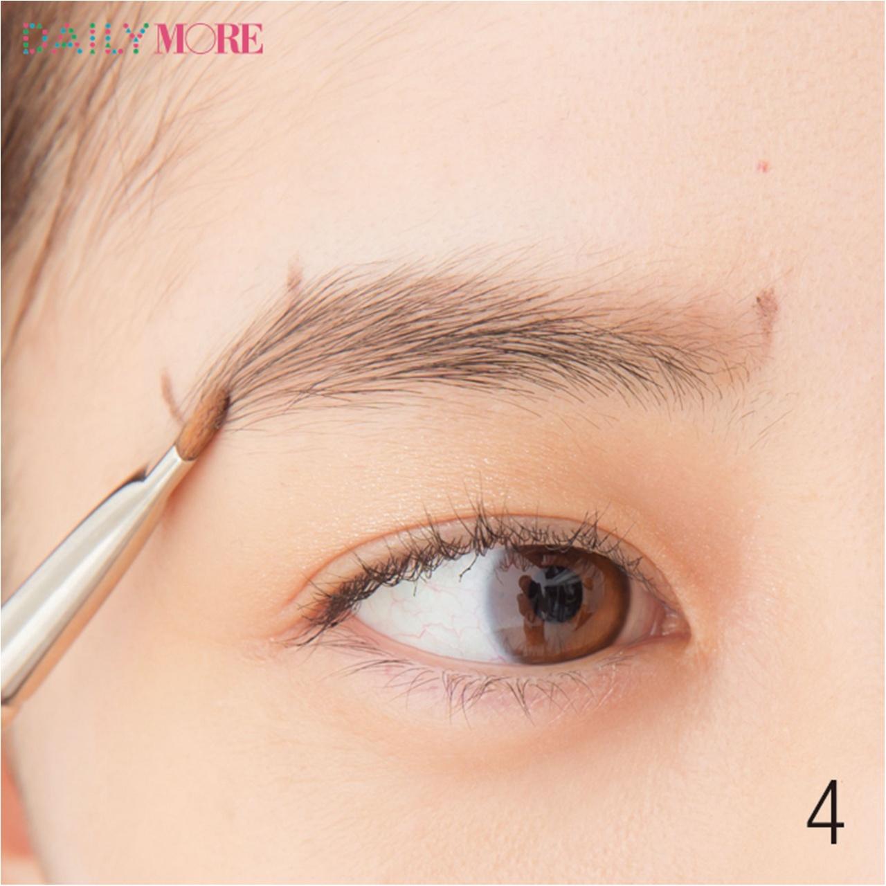 平行眉メイク特集 - 眉毛の形の整え方、描き方のポイントまとめ_6