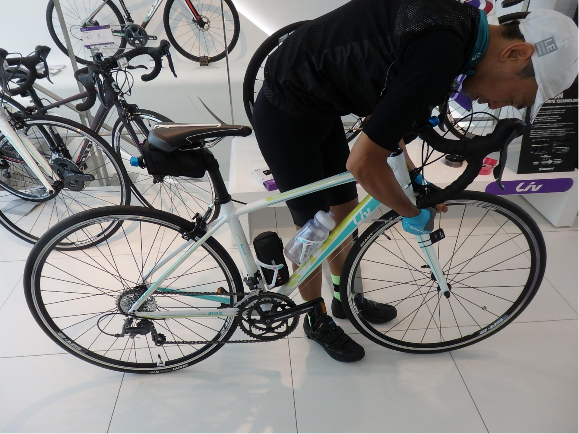 ロードバイク初体験!元オリンピック選手からしっかり教わります!#ツール・ド・東北【#モアチャレ あかね】_3