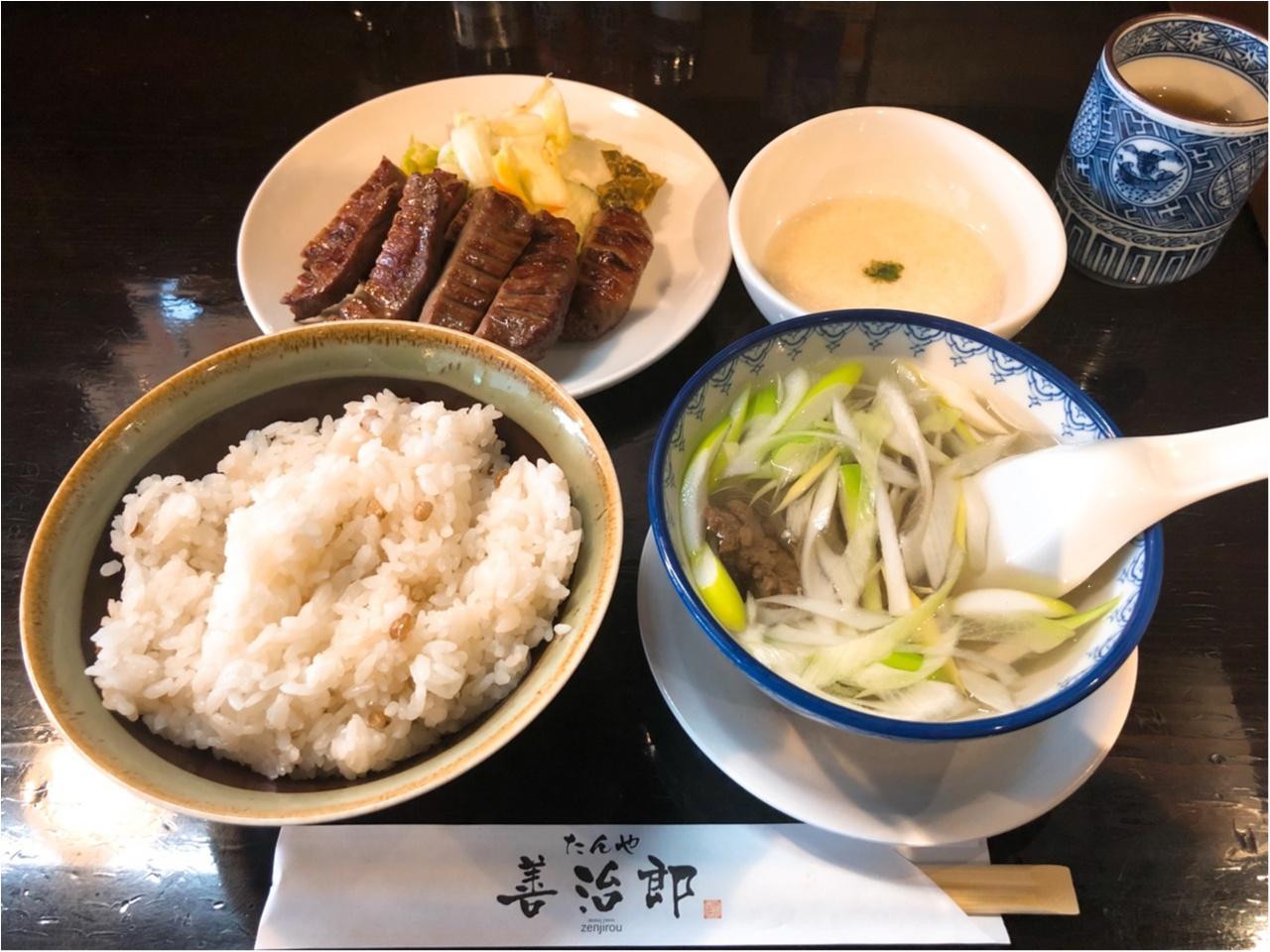 仙台でしか味わえない!『たんや善治郎』の極厚絶品牛たんはコレ!!_2