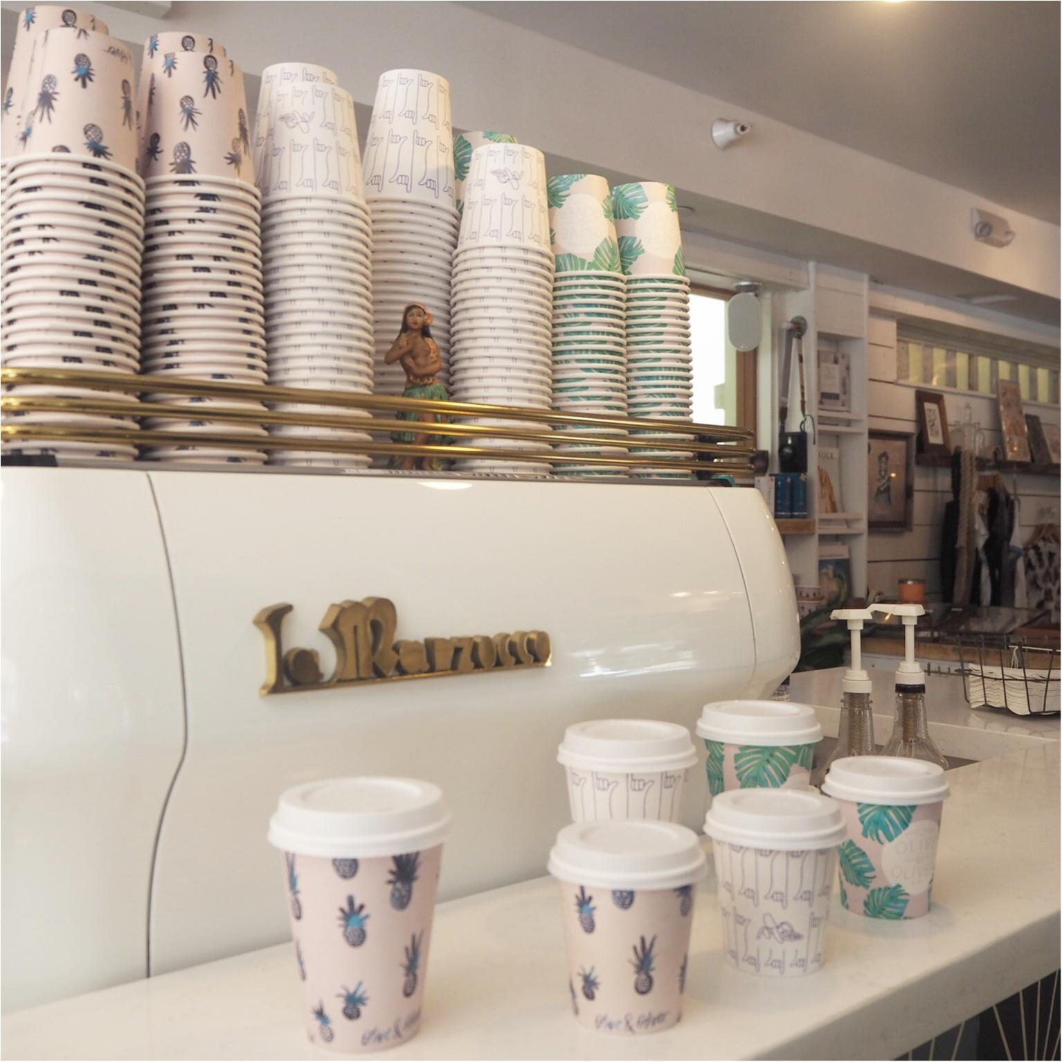 ハワイ/ホノルルをおさんぽ♪カップがかわいいと話題のコーヒースタンド♡_9